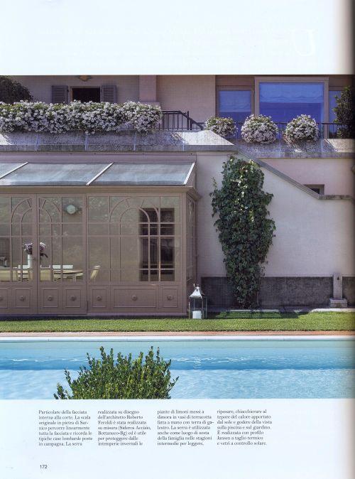 Pagina di copertina rivista dentro casa abitazione stile for Dentro i piani di casa
