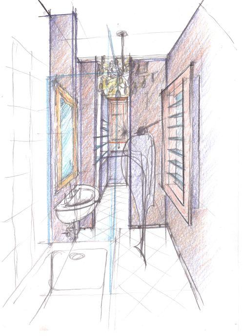 Arredamento appartamento a milano via b maria agota orban for Arredamento b b