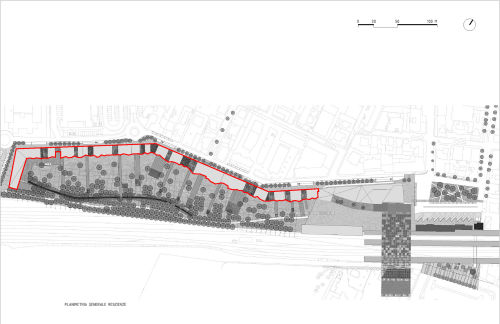 05 disegni tecnici planimetria residenze rho fase di progetto