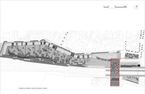 09 disegni tecnici planimetria albergo rho fase di progetto