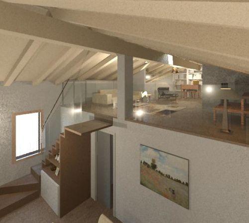 Arredamento e design d 39 interni di un appartamento con - Design d interni milano ...