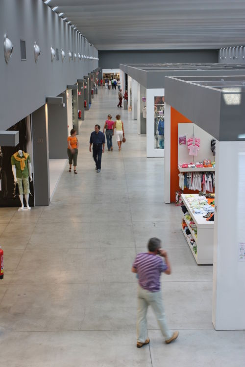 Centro commerciale San Marino Factory Outlet · Andrea Lenzi Architetto
