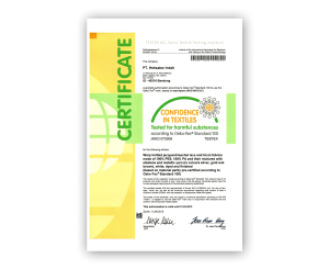 Certificate Confidence in Textile 2012