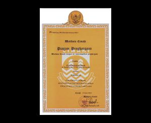 Penghargaan Perusahaan Terbaik Walikota Cimahi