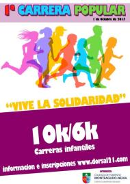 I Carrera Popular Vive La Solidaridad 2017