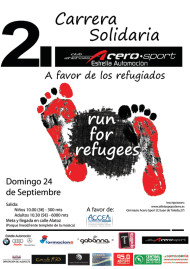 II Carrera Popular Run For Refugees