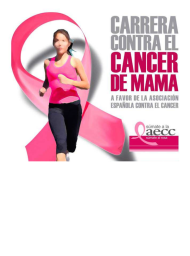 Carrera Solidaria contra el Cancer de Mama