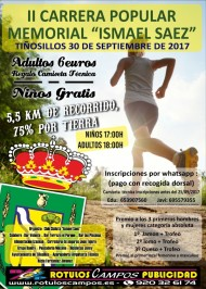 "II Carrera Popular Memorial ""Ismael Saez"""