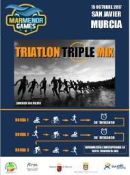 Triatlón Triple MIX San Javier