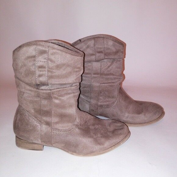 Wet seal boots suede
