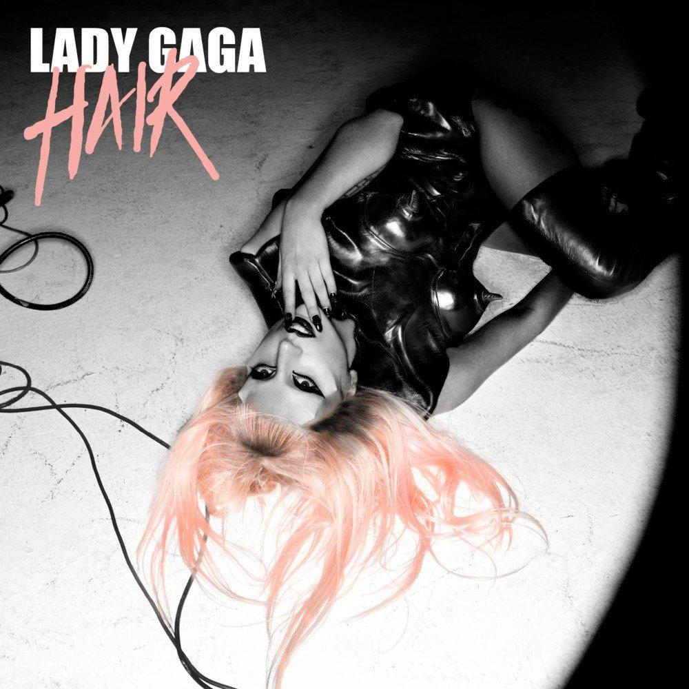 Lady gaga hair real