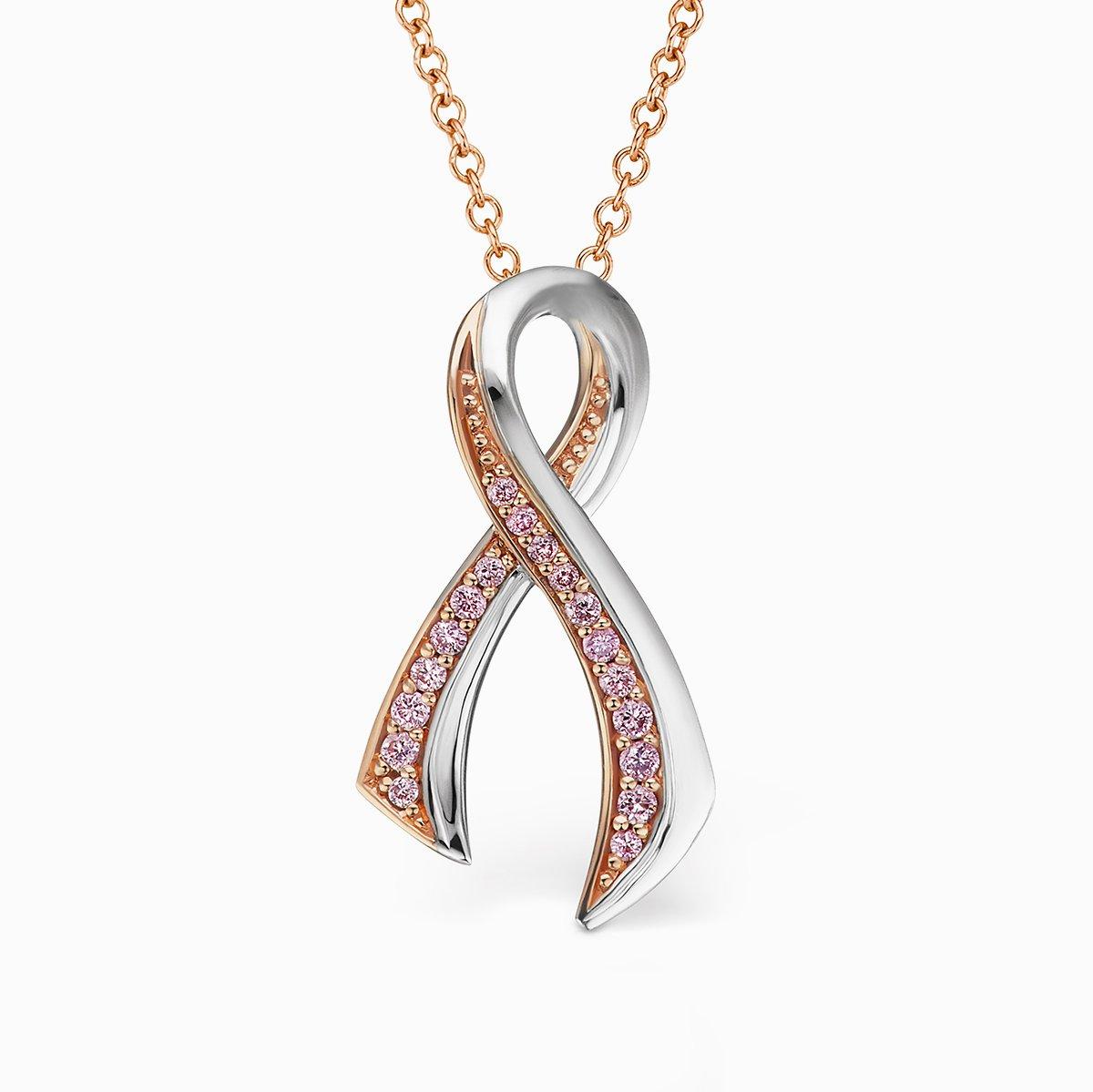 Pink diamond breast cancer