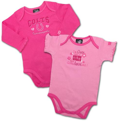 Pink infant colts jersey