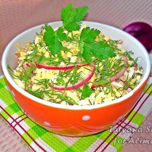 Скумбрия рецепты салат