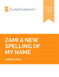 Detailed summary of zami by audre lorde