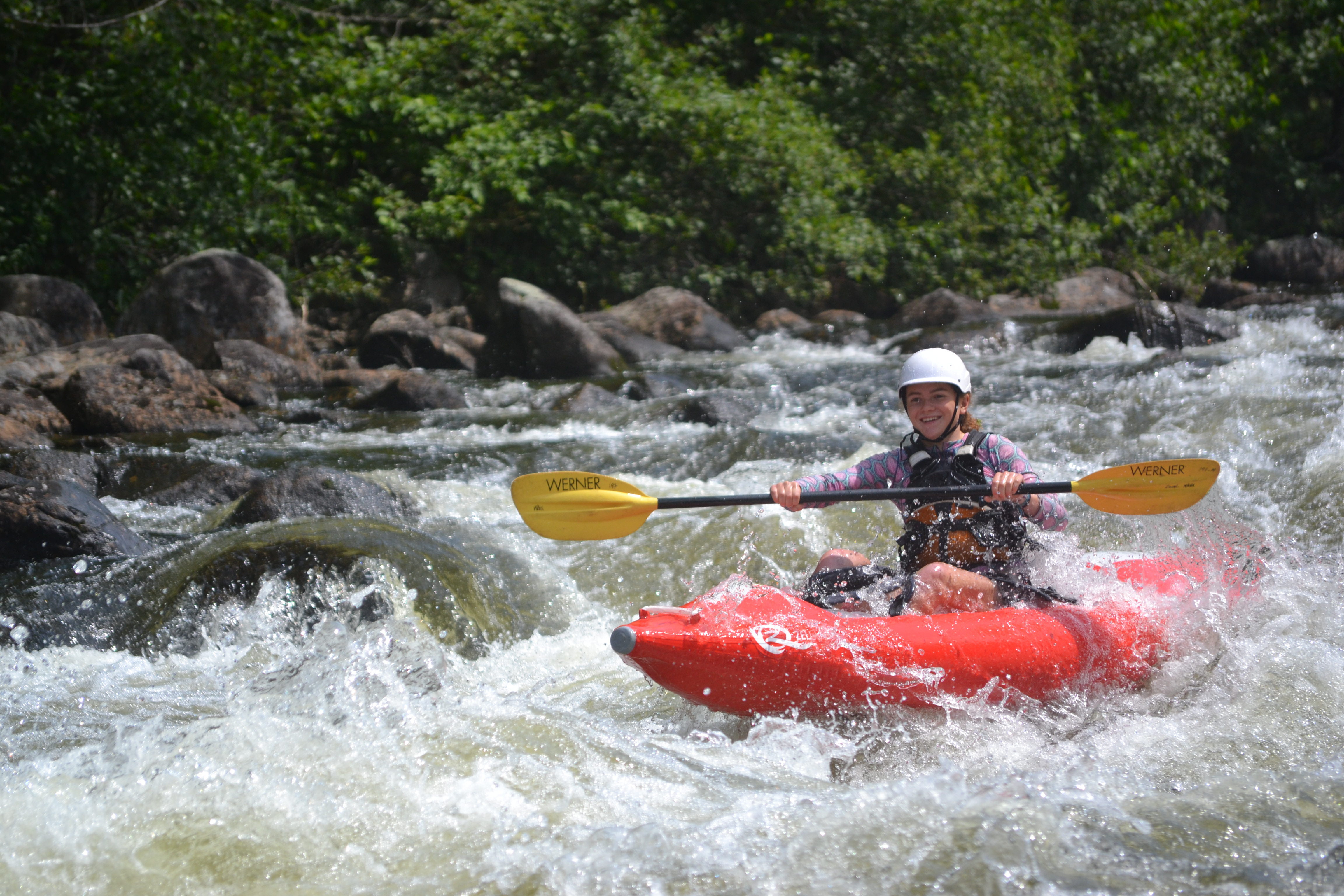 Paddlers Journey Up North