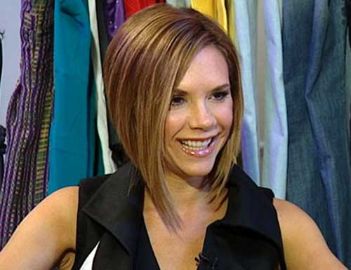 Victoria beckham hair cut 2009