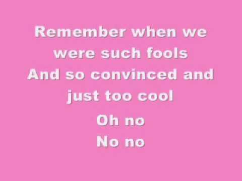 Pink lyricas