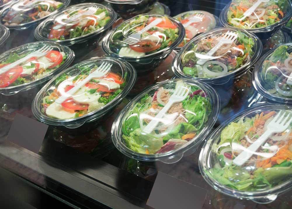 Производство салатов