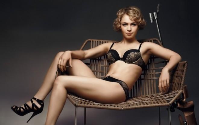 Фотосессия Магдалены Нойнер для дамского белья марки Mey