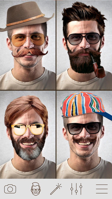 Hair-Changer-Photo-Booth-Men-Hair-Style-Photo-Effect