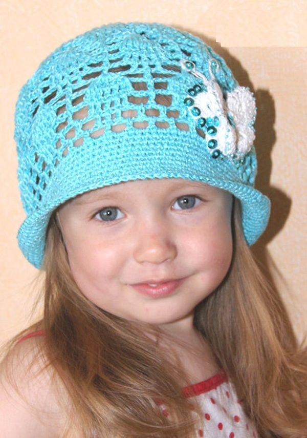 Детские шапочки панамки
