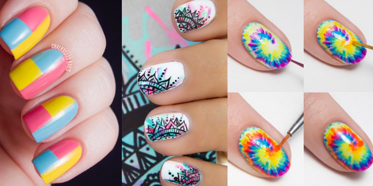 Nails patterns art