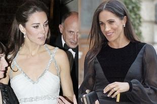 В сети сравнивают первые сольные выходы Кейт Миддлтон и Меган Маркл в статусе герцогинь