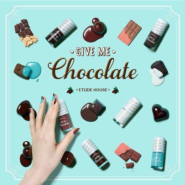 Etude house give me chocolate nails