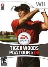 Tiger Woods PGA Tour 08 Nintendo Wii Complete NM Wii, Video Games