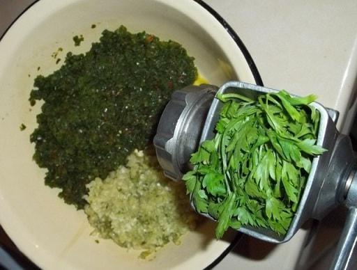 аджика из зеленого перца