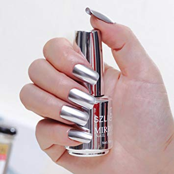 Metal nails polish