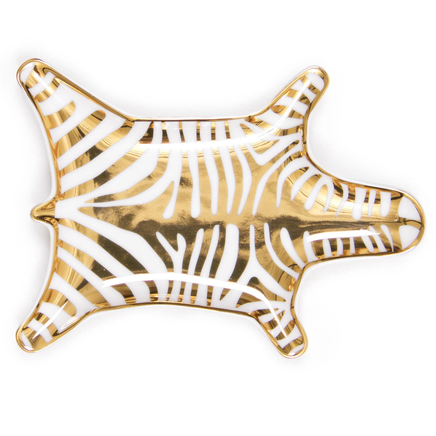 Zebra dish jonathan adler