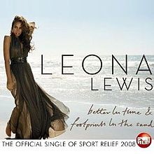 Songtext leona lewis footprints in the sand