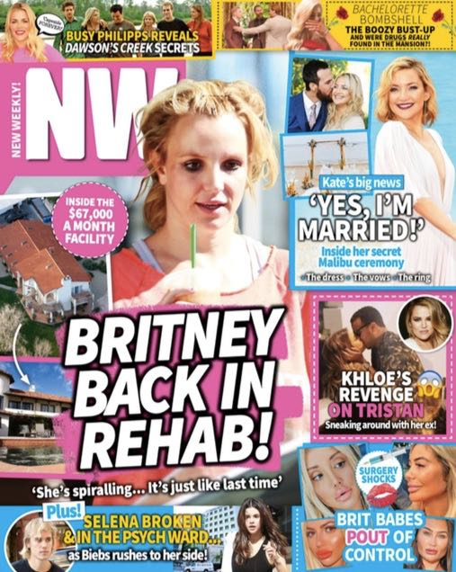 Britney spears rehab story