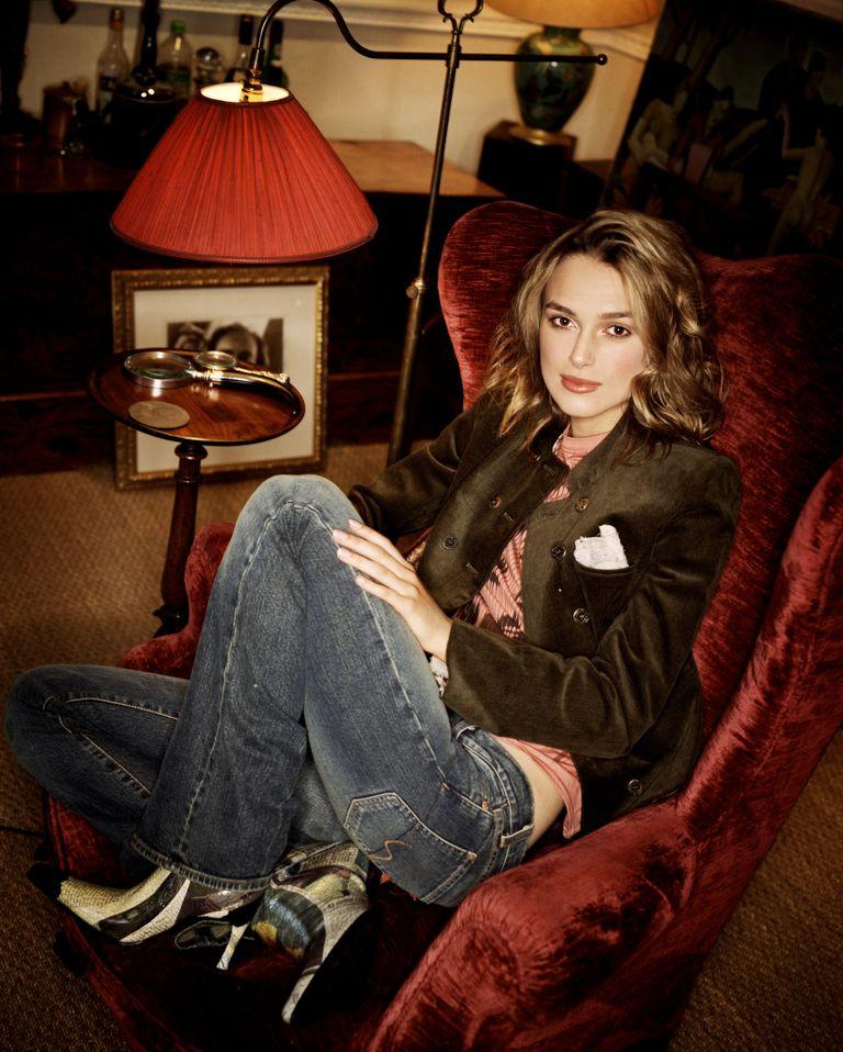Кира Найтли в фотосессии Шона Макменоми