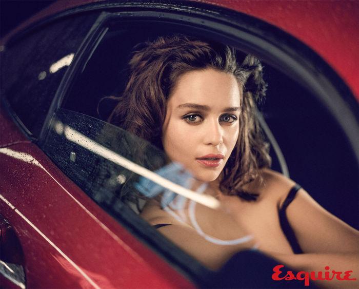 Эмилия кларк фотосессия для esquire