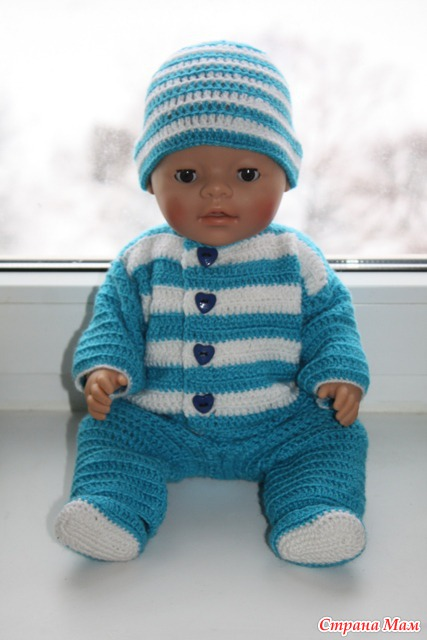 Вязать одежду для куклы
