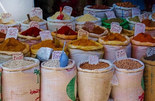 Что не стоит везти из Туниса - специи