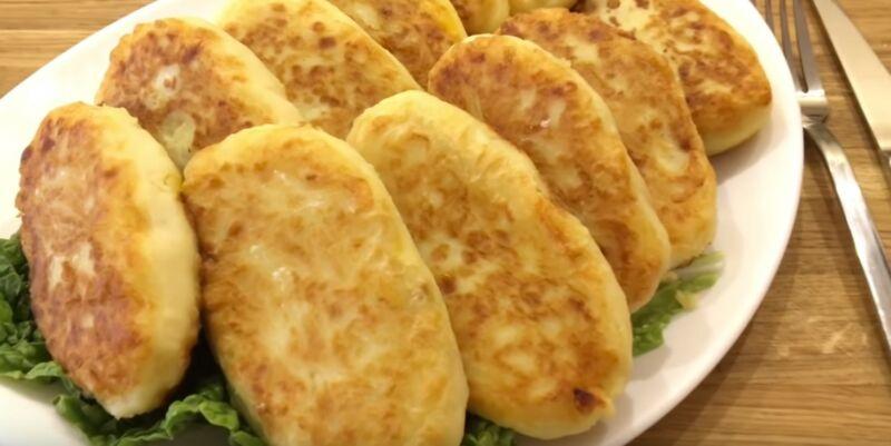 зразы из картофеля с капустой