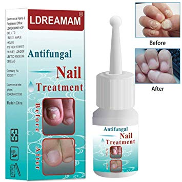 Antifungal solution for nails