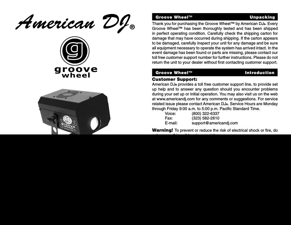 American dj manuals