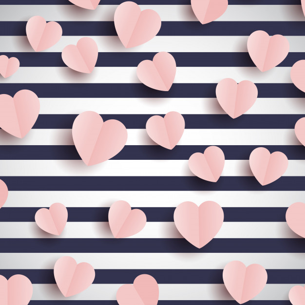 Pink heart backrounds