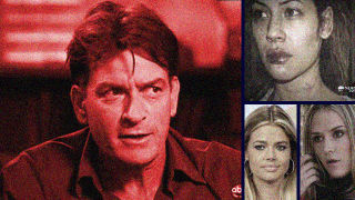 Charlie sheen shot his wife