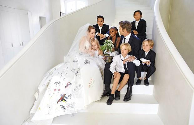 Джоли и питт последние дети фото