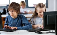 Урок информатики в школе