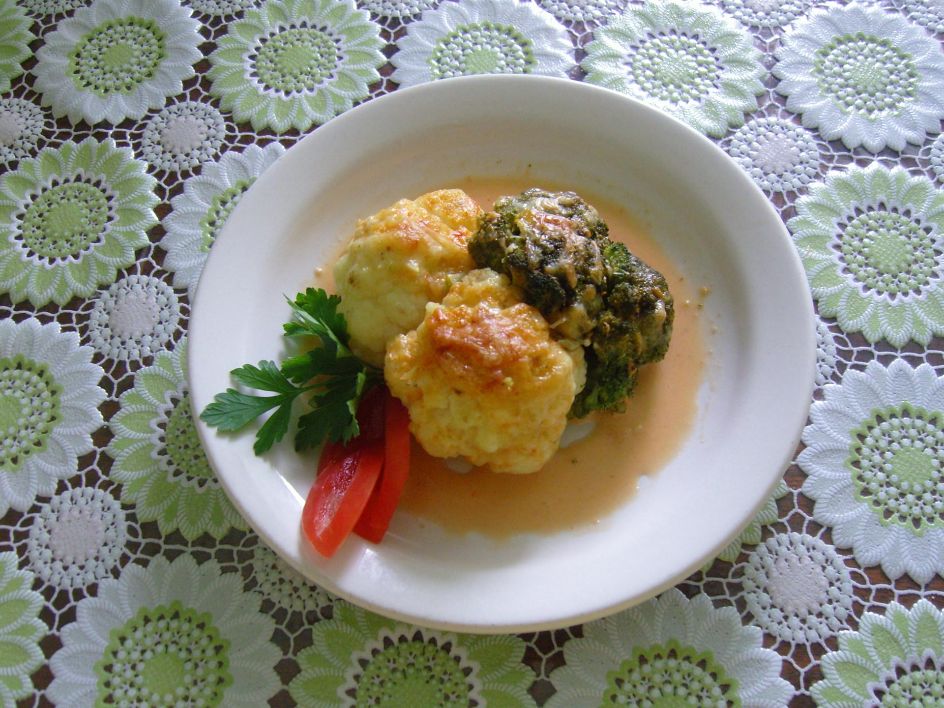 Как приготовить цветную и брокколи капусту в духовке