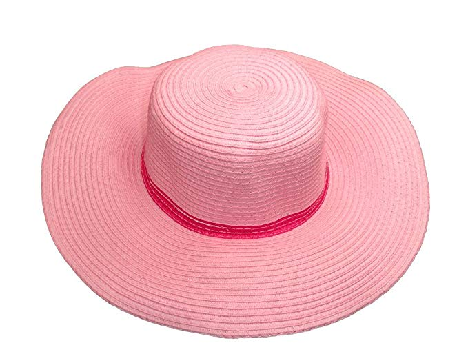 Pink floppy hats