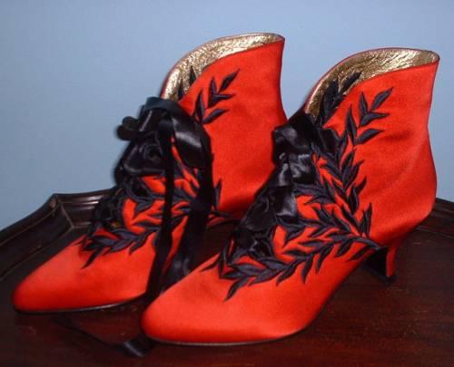 Обувь XIX века: «Принеси те самые черевички, которые носит царица, выйду тот же час за тебя замуж», фото № 8