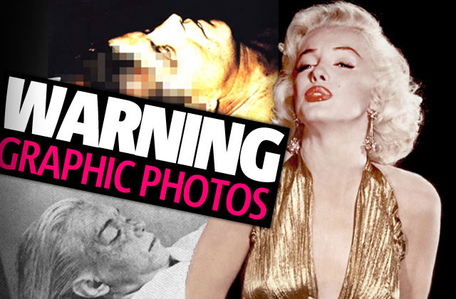 Morgue pics of celebrities